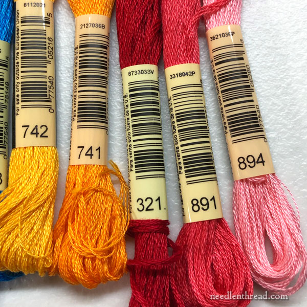Pick What You Like: Color Choices for Embroidery