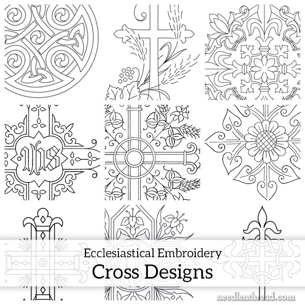 Crosses for Hand Embroidery