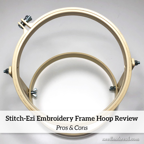 Stitch-Ezi Embroidery Frame-Hoop Review