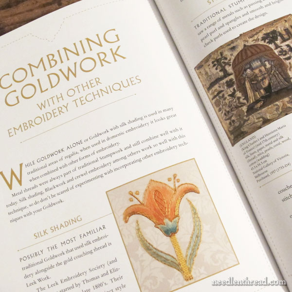 Goldwork Masterclass by Alison Cole: Book Review