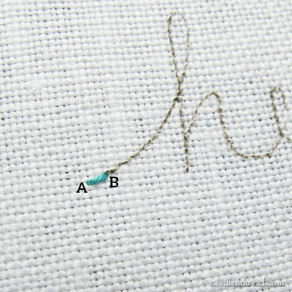 Quaker Stitch embroidery tutorial