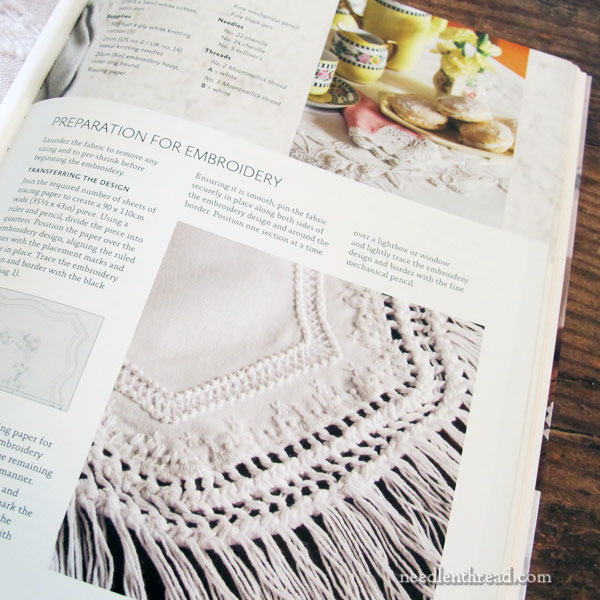 Whitework Inspirations - embroidery project book