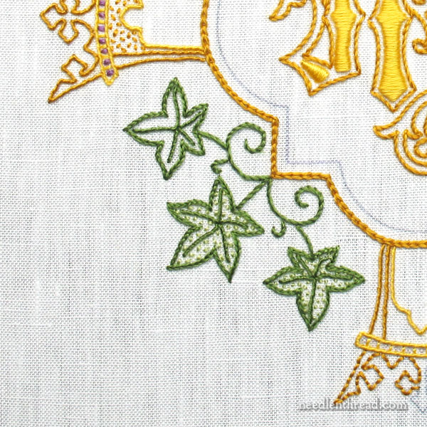 Hand embroidered communion pall