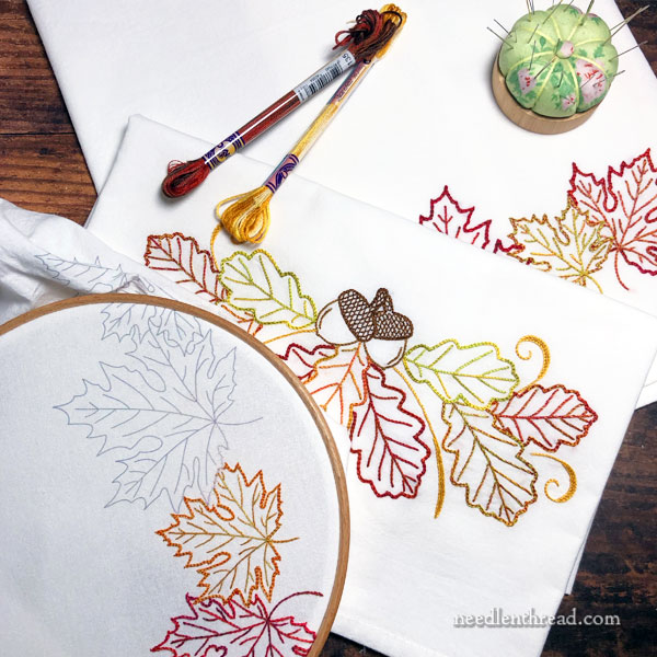 Autumn Variety embroidery designs