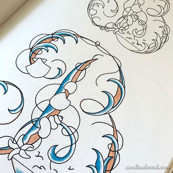 A Sea to Stitch by Elisabetta Sforza