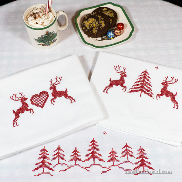 Stamped Cross Stitch Nordic Winter