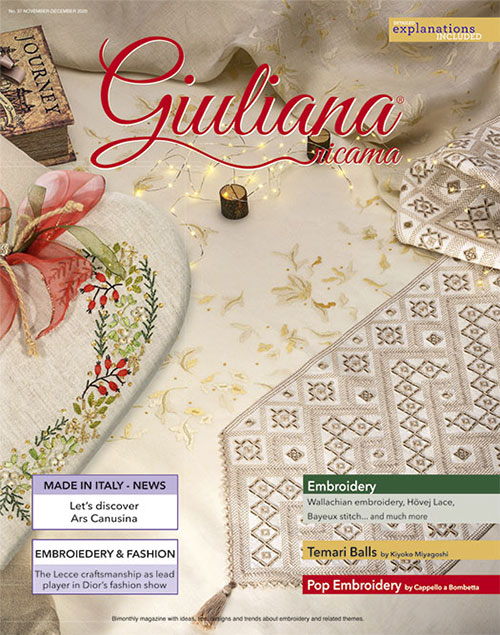 2020 Stitcher's Christmas #3: Guilana Ricamo magazine and a kit