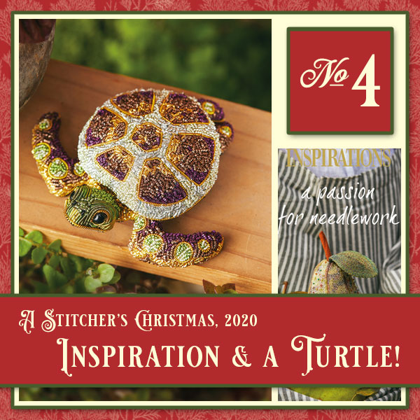 Stitcher's Christmas: Passion for Needlework & Jewel of the Sea kit