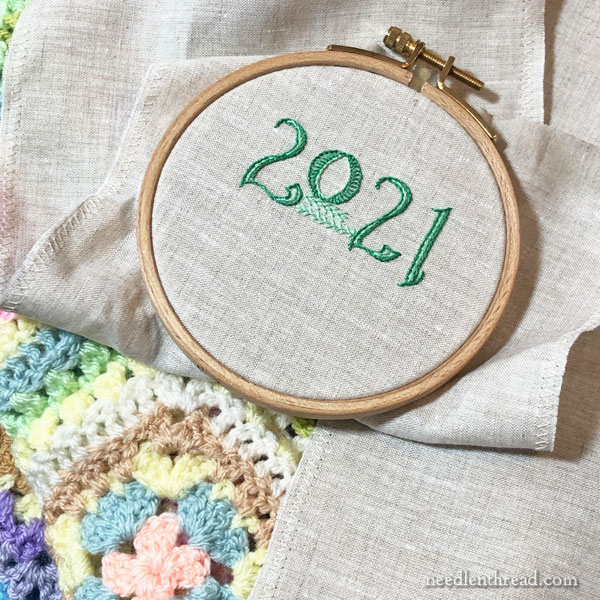 2021 Stitch Fun Sampler