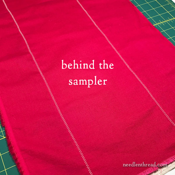 Extending Fabric to fit an Embroidery Hoop