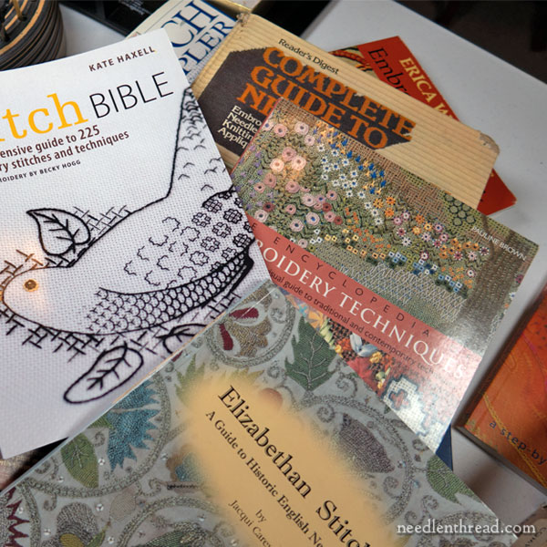 Stitch Dictionaries for Hand Embroidery