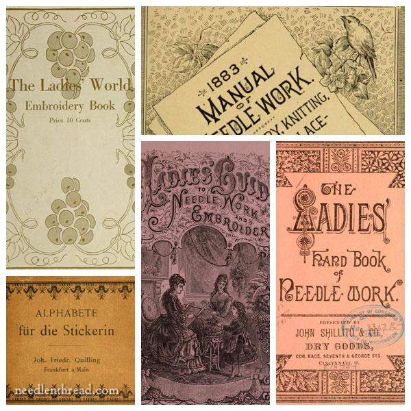 Old embroidery books online - public domain