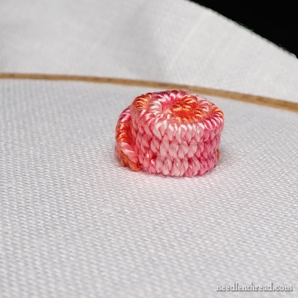 Large Rolled Woven Picot, Stitch Fun Tutorial