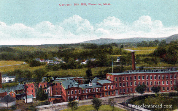 Corticelli silk history - Florence MA mills